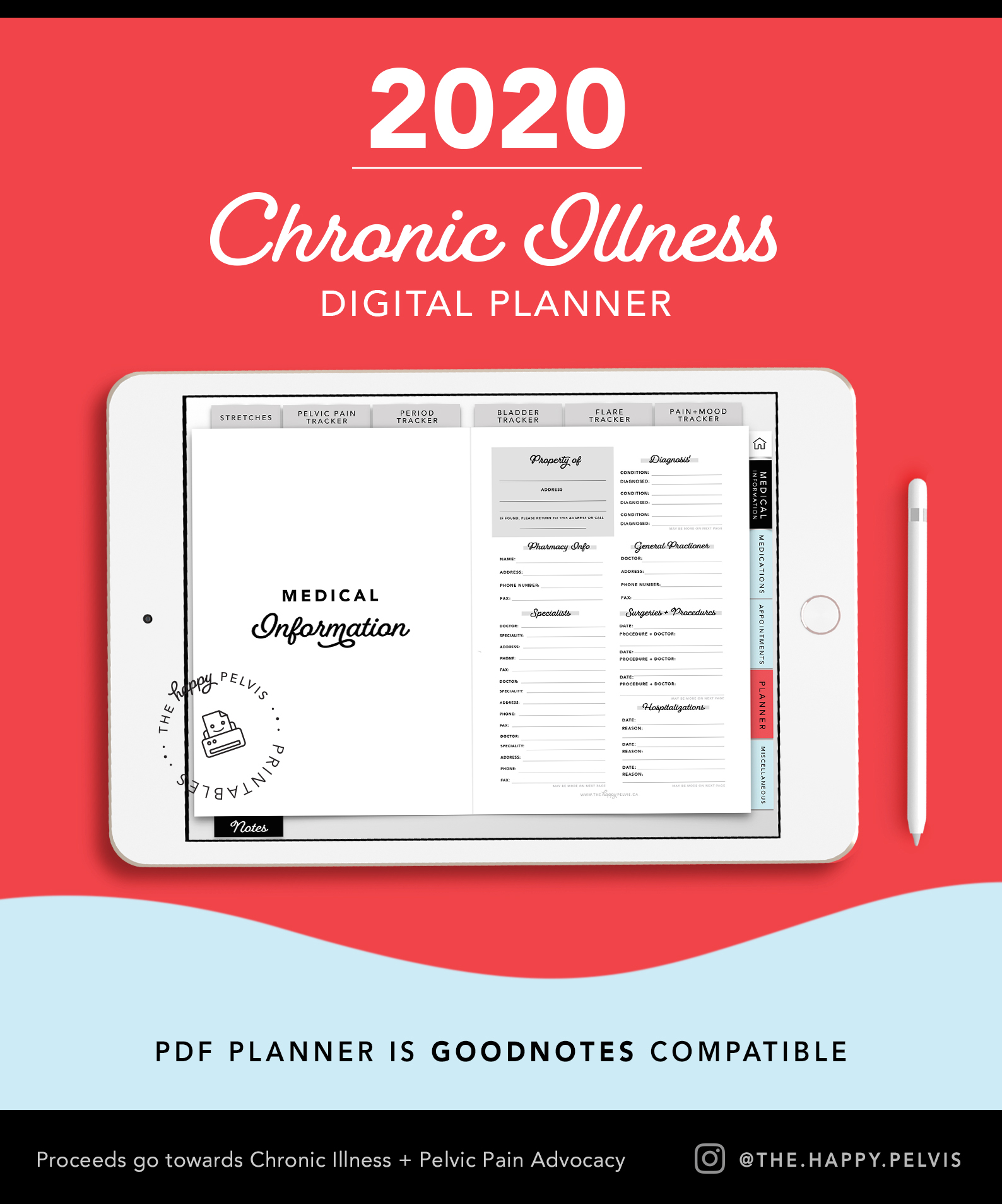 2020_Digital_Planner_Medical_Chronic_Illness