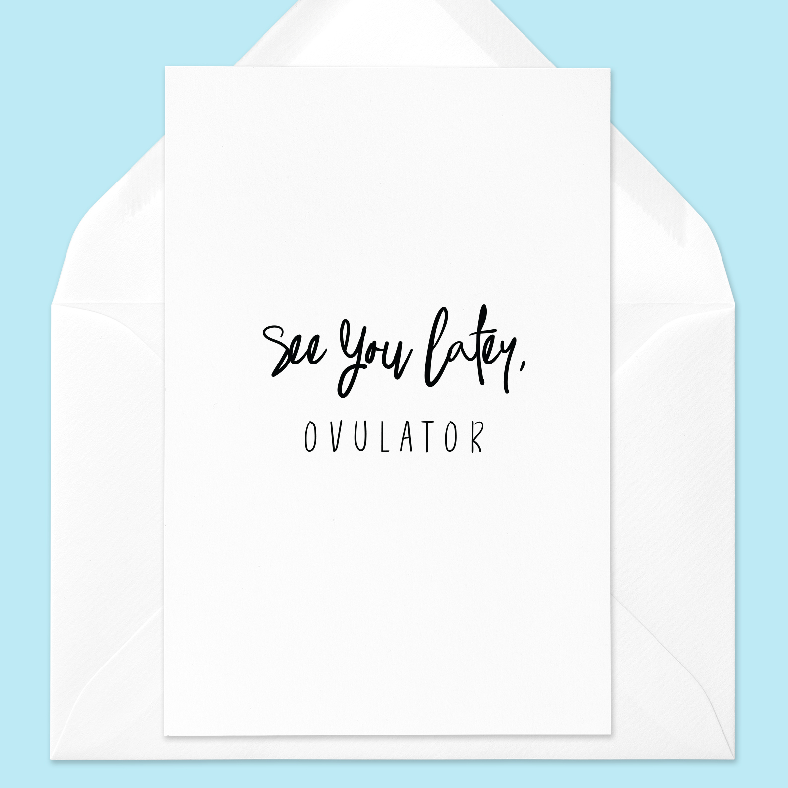 Hysterectomy Greeting Card