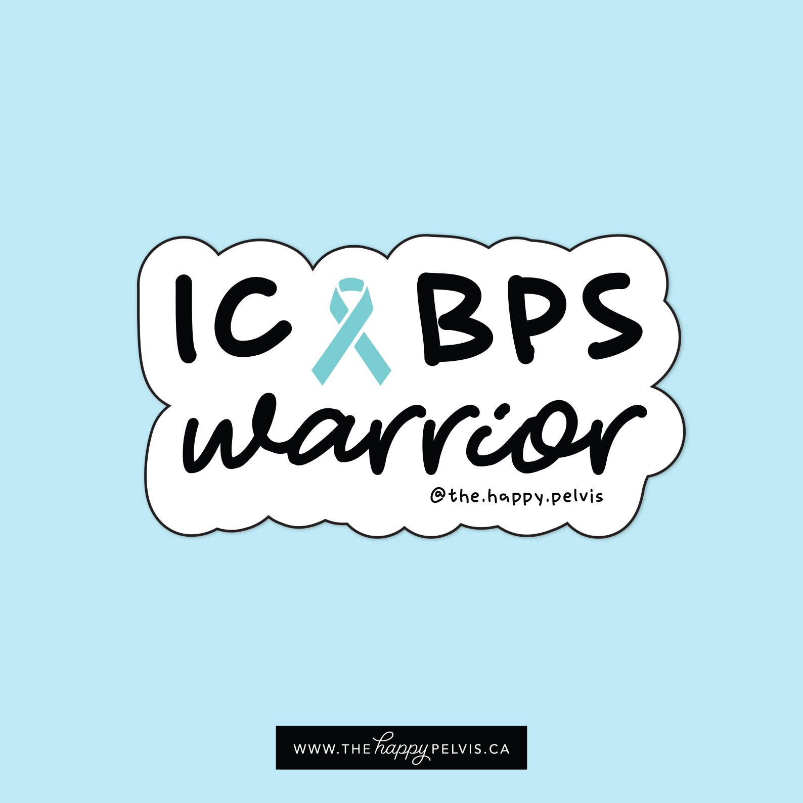 Interstitial Cystitis Stickers